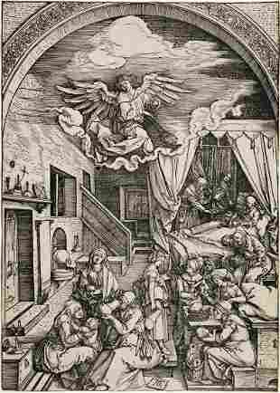 ALBRECHT DÜRER The Birth of the Virgin.