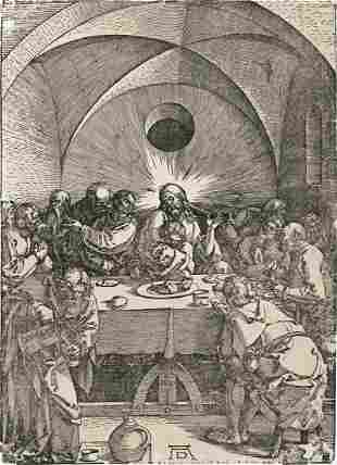 ALBRECHT DÜRER The Last Supper.