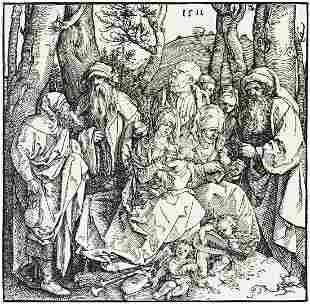 ALBRECHT DÜRER The Holy Kinship with the
