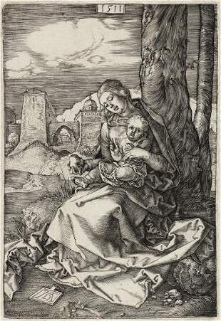 ALBRECHT DÜRER The Virgin and Child with a Pear.