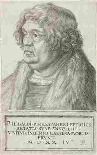 ALBRECHT DÜRER Willibald Pirckheimer.