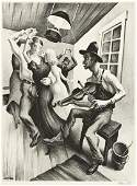 THOMAS HART BENTON I Got a Gal on Sourwood Mountain.