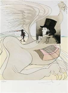 SALVADOR DALÍ Les Caprices de Goya.