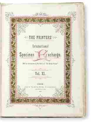 [SPECIMEN BOOK — BRITISH PRINTERS'