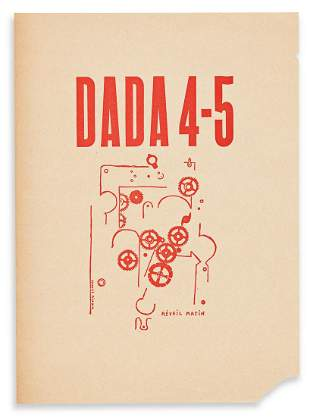 PICABIA, FRANCIS. Dada 4-5, Reveil Matin (Alarm Clock).