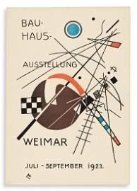 KANDINSKY, VASSILY. Bauhaus Ausstellung Juli - Sept.