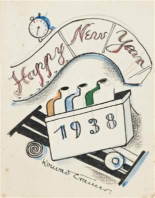 KONRAD CRAMER (1888 - 1963, AMERICAN) Untitled, (A