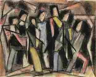 JOSEF MEIERHANS (1890 - 1980, SWISS/AMERICAN) Untitled,