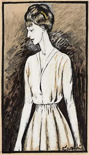 RUDOLF BAUER (1889 - 1953, GERMAN/AMERICAN) Untitled,