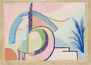 ALICE MATTERN (1909 - 1945, AMERICAN) Untitled,