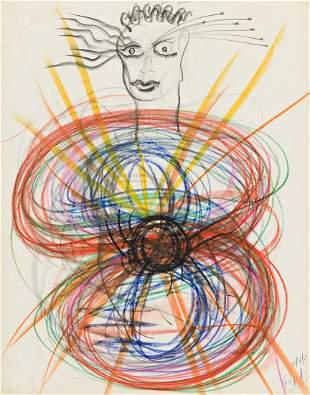 IRENE RICE PEREIRA (1902 - 1971, AMERICAN) Untitled,