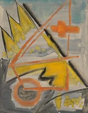 WERNER DREWES (1899 - 1985, GERMAN/AMERICAN) Untitled.