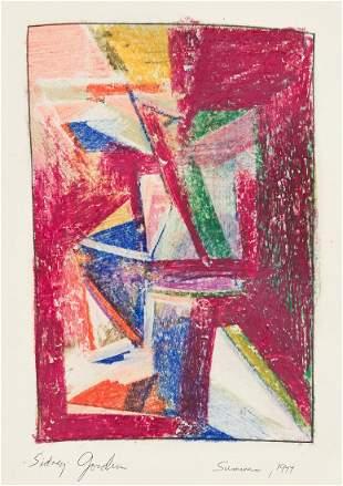 SIDNEY GORDIN (1918 - 1995, AMERICAN) Summer.
