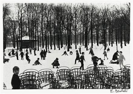 ÉDOUARD BOUBAT (1923-1999) Jardin du Luxembourg,