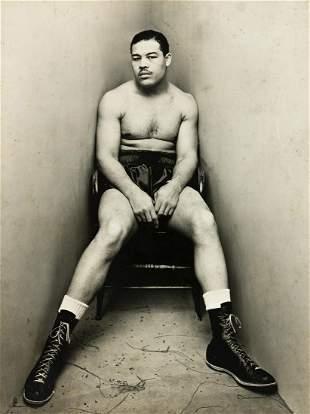 IRVING PENN (1917-2009)  Joe Louis.
