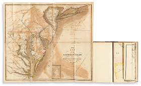 MELISH, JOHN. A Military and Topographical Atlas of the
