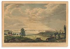 (NEW YORK CITY.) Pierre Canot, engraver; after Thomas