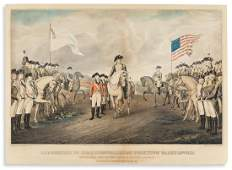 CURRIER, NATHANIEL; after John Trumbull. Surrender of