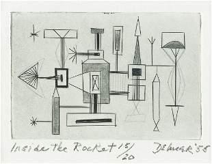 DOROTHY DEHNER Inside the Rocket.