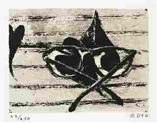 RICHARD DIEBENKORN Untitled (for Harvey Gantt).
