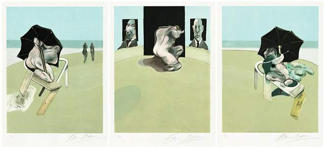 FRANCIS BACON Triptych.