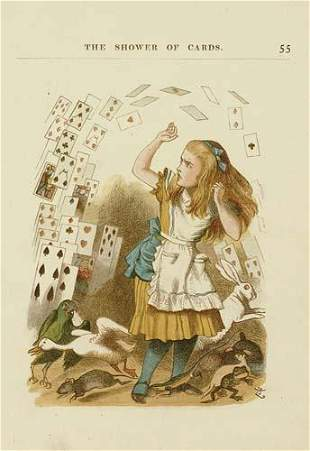 CARROLL, LEWIS. The Nursery Alice.