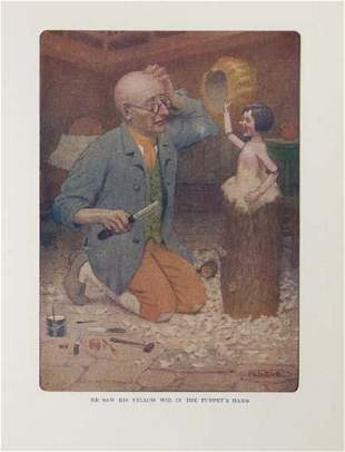 COLLODI, CARLO. Pinocchio: The Story of a Pupp
