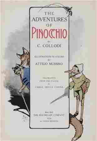 COLLODI, CARLO. The Adventures of Pinocchio.