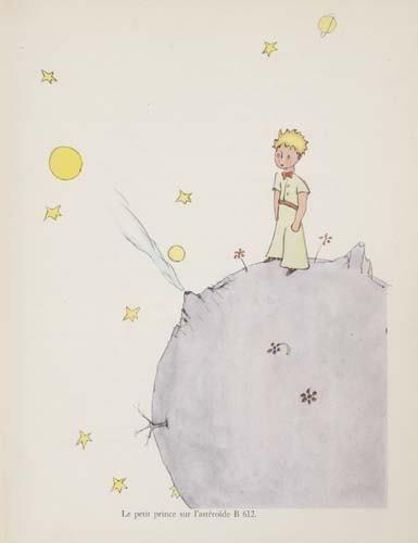 2038084: SAINT-EXUPÉRY, ANTOINE DE. Le Petit Prince.