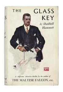 2038368: HAMMETT, DASHIELL. The Glass Key.