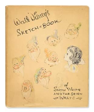 (CHILDREN'S LITERATURE.) Disney Studios, Walt. Sketch