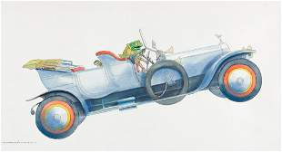 """MICHAEL FOREMAN (1938- ) """"Toad the Terror, The"""