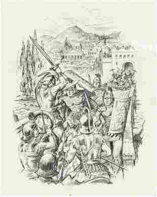 "GEORGE GARLAND (20th Century) ""Heroes and Heroines of"