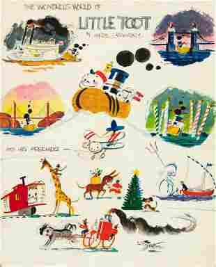 """HARDIE GRAMATKY (1907-1979) """"The Wondrous World of"""