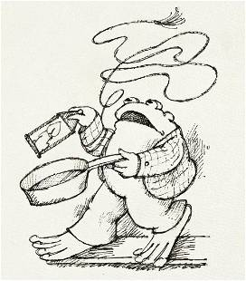 """ARNOLD LOBEL (1933-1987) """"'I am coming to help you!"""""""