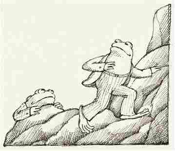 """ARNOLD LOBEL (1933-1987) """"We can try to climb this"""