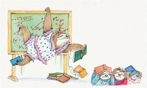 "LYNN MUNSINGER (1951- ) ""Anyone for math?"" [CHILDRENS /"
