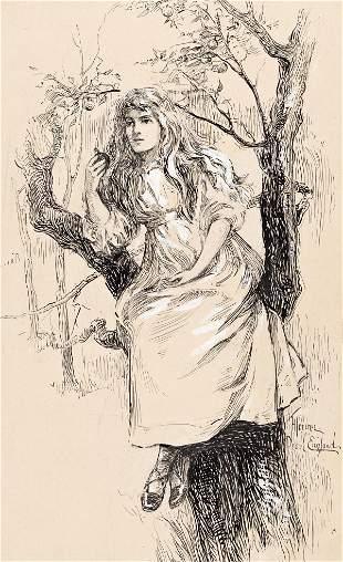 FLORENCE PEARL ENGLAND NOSWORTHY (1872-1936) Girl