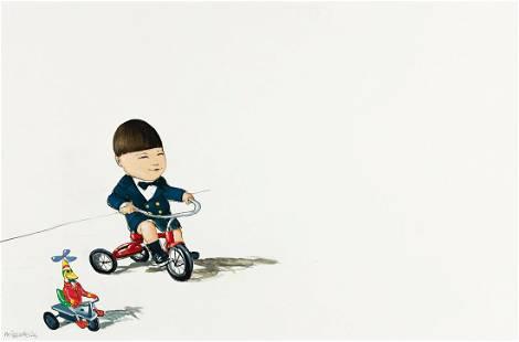 """MICHAEL PARASKEVAS (1961- ) """"Junior Kroll."""" [CHILDRENS]"""