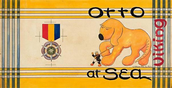 """WILLIAM PÈNE DU BOIS (1916-1993) """"Otto at Sea."""""""