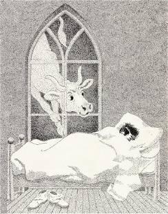 """WILLIAM PÈNE DU BOIS (1916-1993) """"Elisabeth the"""