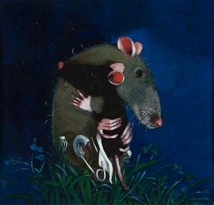 """JOHN A. ROWE (1949- ) """"...they just hugged and cuddled"""