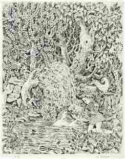 ILYA SCHOR (1904-1961) The Little Mermaid. [CHILDRENS /