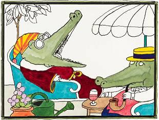 "TOMI UNGERER (1931-2019) ""One Fine Morning."""