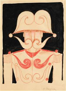 TOMI UNGERER (1931-2019) Captain with Questionable