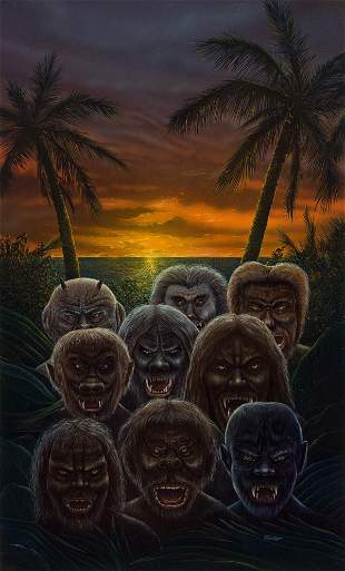 "DON BRAUTIGAM (1946-2008) ""The Island of Dr. Moreau."""