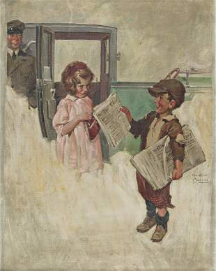 WILLIAM MEADE PRINCE (1893-1951) Little Girl and