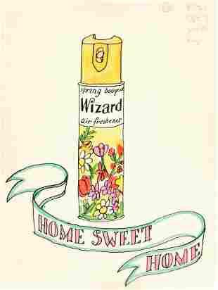 TOMI UNGERER (1931-2019) Wizard Air Freshener.