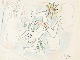 """JEAN COCTEAU (1889-1962) """"Le fils de l'air."""" [BALLET]"""