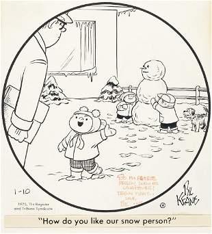 "BIL KEANE (1922-2011) ""How do you like our snow"